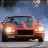 1973 Split Bumper Camaro Does Nasty Burnout