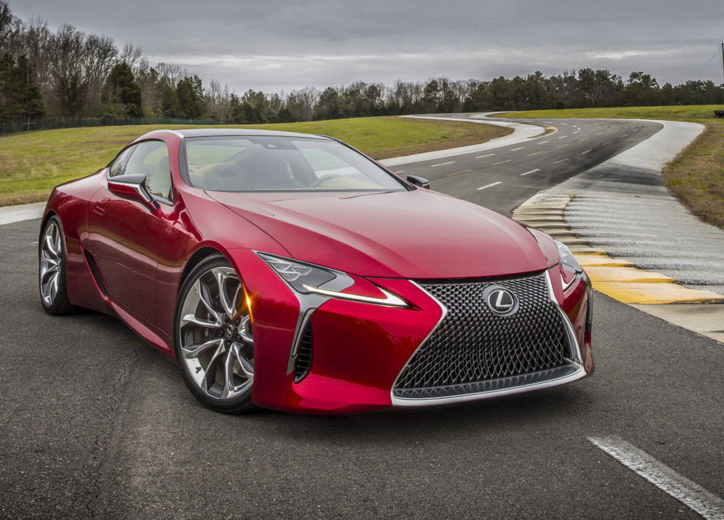 Is The Lexus Lc 500 Luxury Coupe A Japanese Muscle Car Speedmeister Com